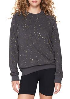 Women's Spiritual Gangster Old School Star Print Sweatshirt