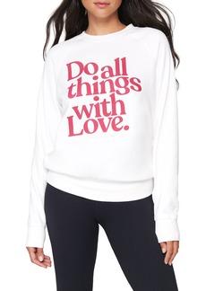 Women's Spiritual Gangster Old School Sweatshirt