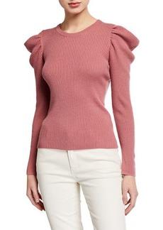 Splendid Allston Puff-Sleeve Pullover