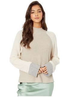 Splendid Alta Color Block Pullover Sweater