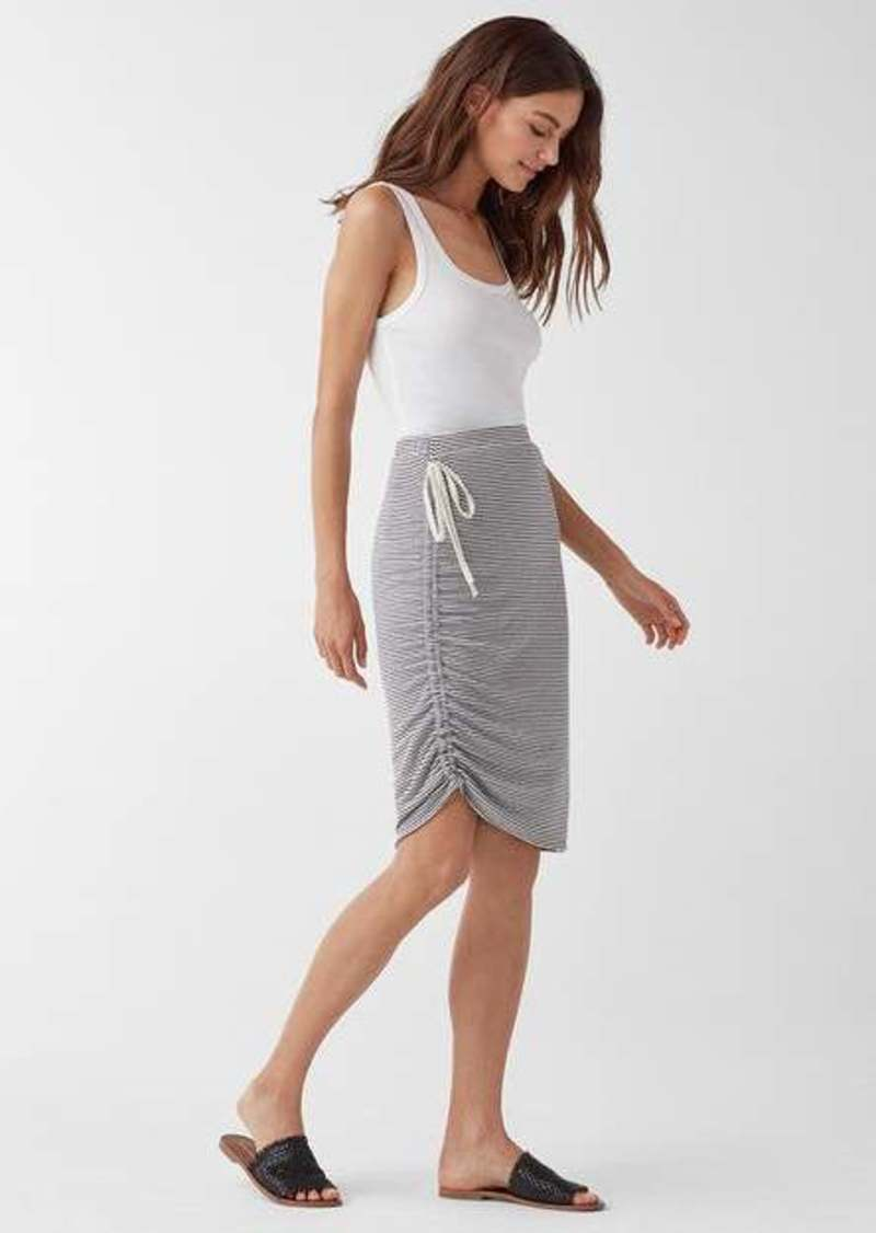 Splendid Alto Asymmetrical Stripe Skirt