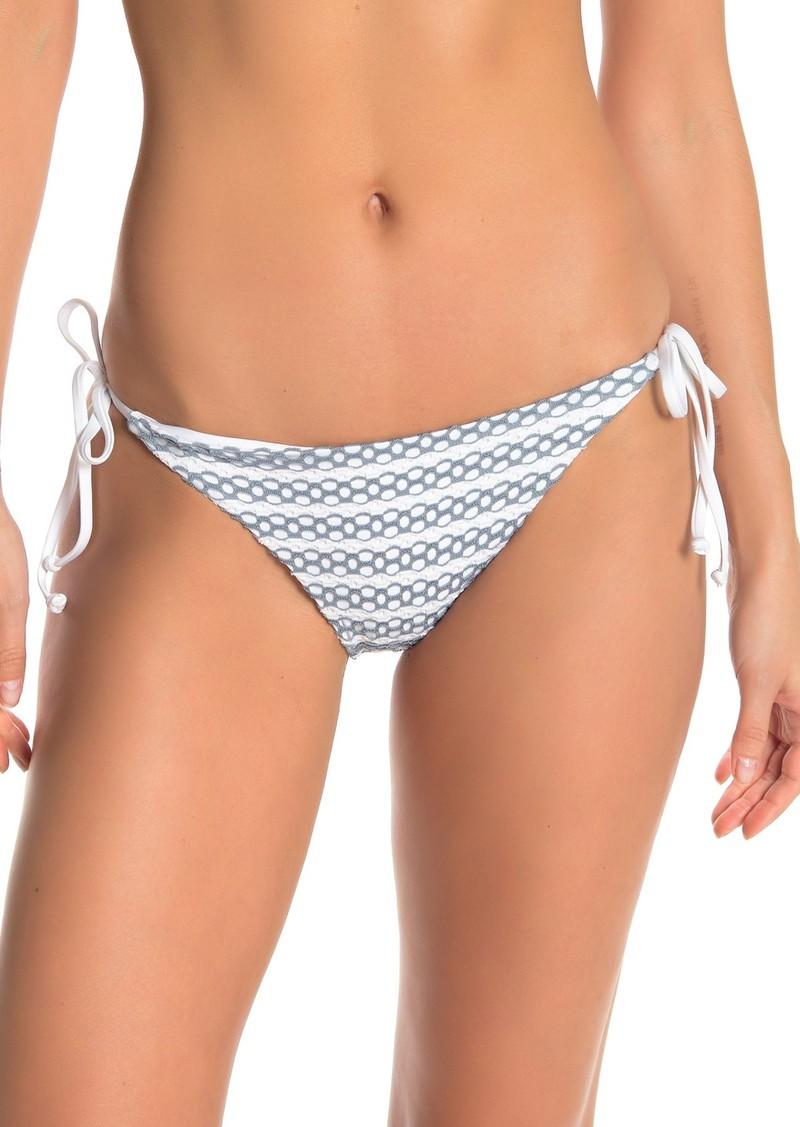 Splendid Avalon Eyelet Tie Side Bikini Bottoms