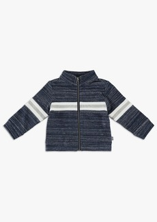 Splendid Baby Boy Brushed French Terry Track Pullover