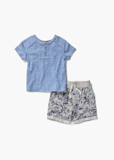 Splendid Baby Boy Henley Tee and Short Set