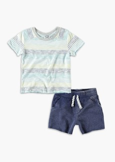 Splendid Baby Boy Striped Tee and Short Set