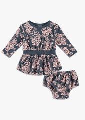 Splendid Baby Girl Floral Dress Set
