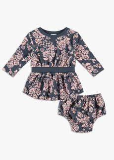 Splendid Baby Girl Floral Dress Set