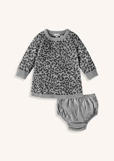 Splendid Baby Girl Leopard Knit Dress