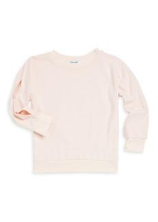Splendid Baby Girl's Slit Sleeve Pullover