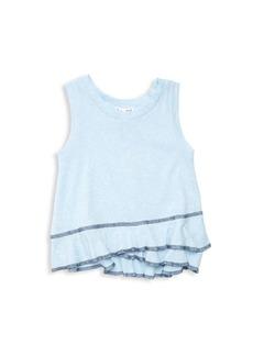 Splendid Baby's & Little Girl's Snowflake-Wash Tank Top