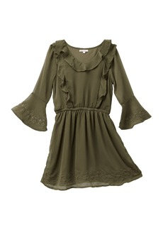 Splendid Bell Sleeve Dress (Big Girls)