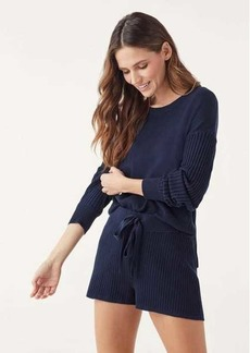 Splendid Bonfire Ribbed Pullover