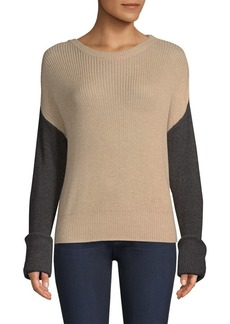 Splendid Calico Color Block Sweater