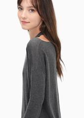 Splendid Canarise Cutout Cashblend Pullover