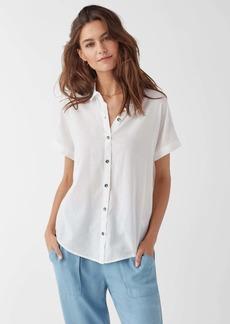 Splendid Canyon Short Sleeve Stripe Button Up Shirt