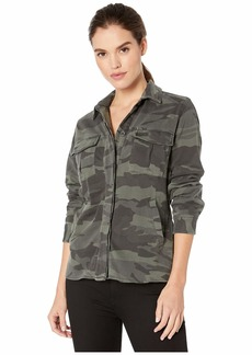 Splendid Cargo Shirt Jacket with Jersey Lining