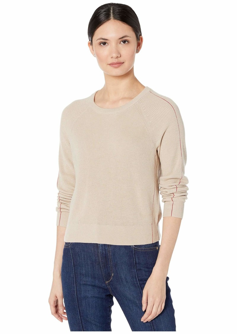 Cashblend Pullover with Pop Stitch