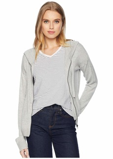 Splendid Cashmere Blend Hoodie Sweater