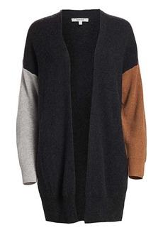 Splendid Cashmere Colorblock Cardigan