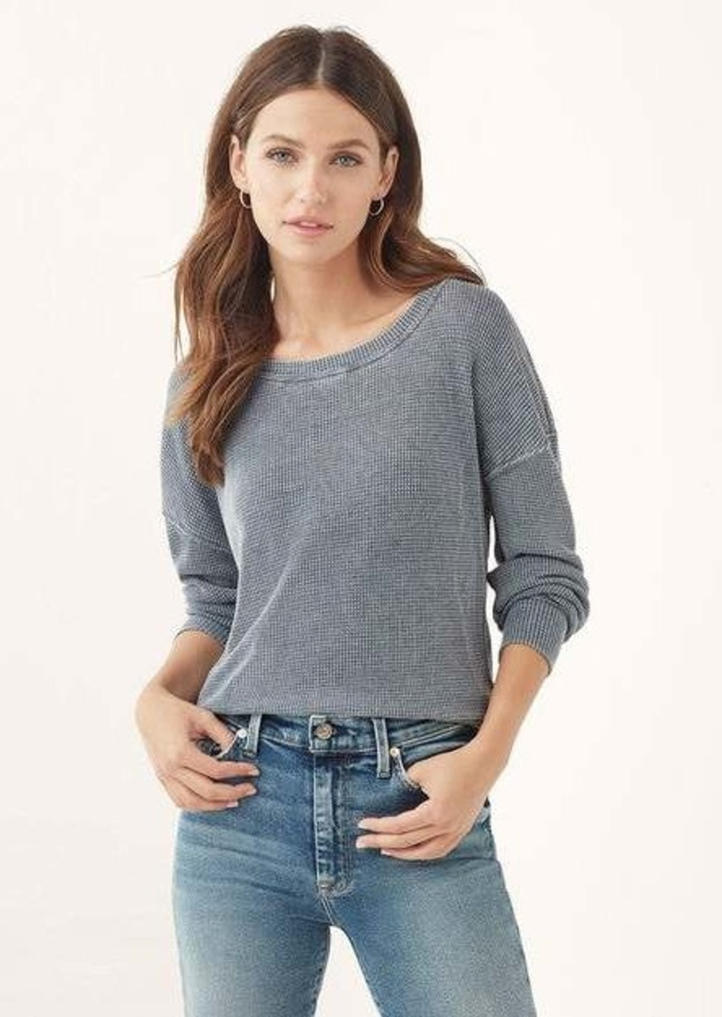 Splendid Catalina Burnout Thermal Sweater