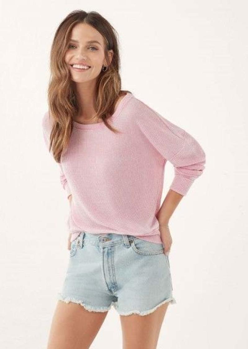 Splendid Catalina Burnout Thermal Sweater