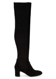 Splendid Charlotte Suede & Textile Over-The-Knee Boots