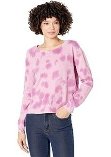 Splendid Cloud Tie-Dye Pullover Sweatshirt