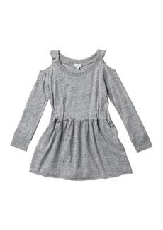 Splendid Cold Shoulder Dress (Toddler Girls)