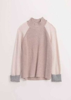 Splendid Colorblock Turtleneck