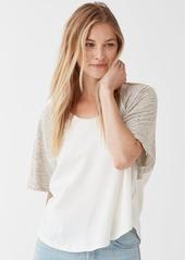 Splendid Cotton Jersey Tunic Top
