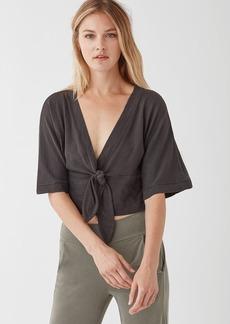 Splendid Cotton Slub Kimono Top