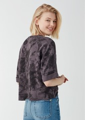 Splendid Craftsman Treatment Cropped Sweatshirt