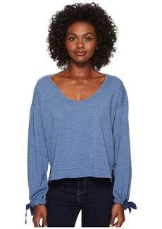 Splendid Cropped Lounge Pullover