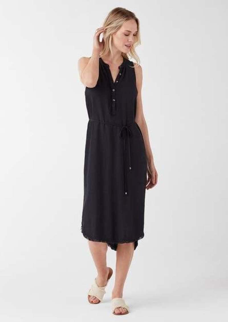 Splendid Crosshatch Midi Dress