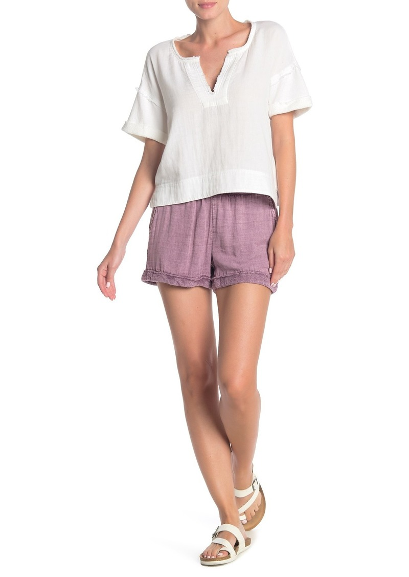 Splendid Cuffed Knit Shorts
