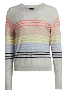 Splendid Daydream Striped Crewneck Pullover