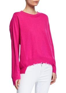 Splendid Destroyed High-Low Sweater
