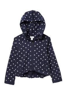 Splendid Dot Print Hoodie (Toddler Girls)