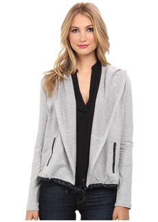 Splendid Downing Street Color Block Drape Jacket