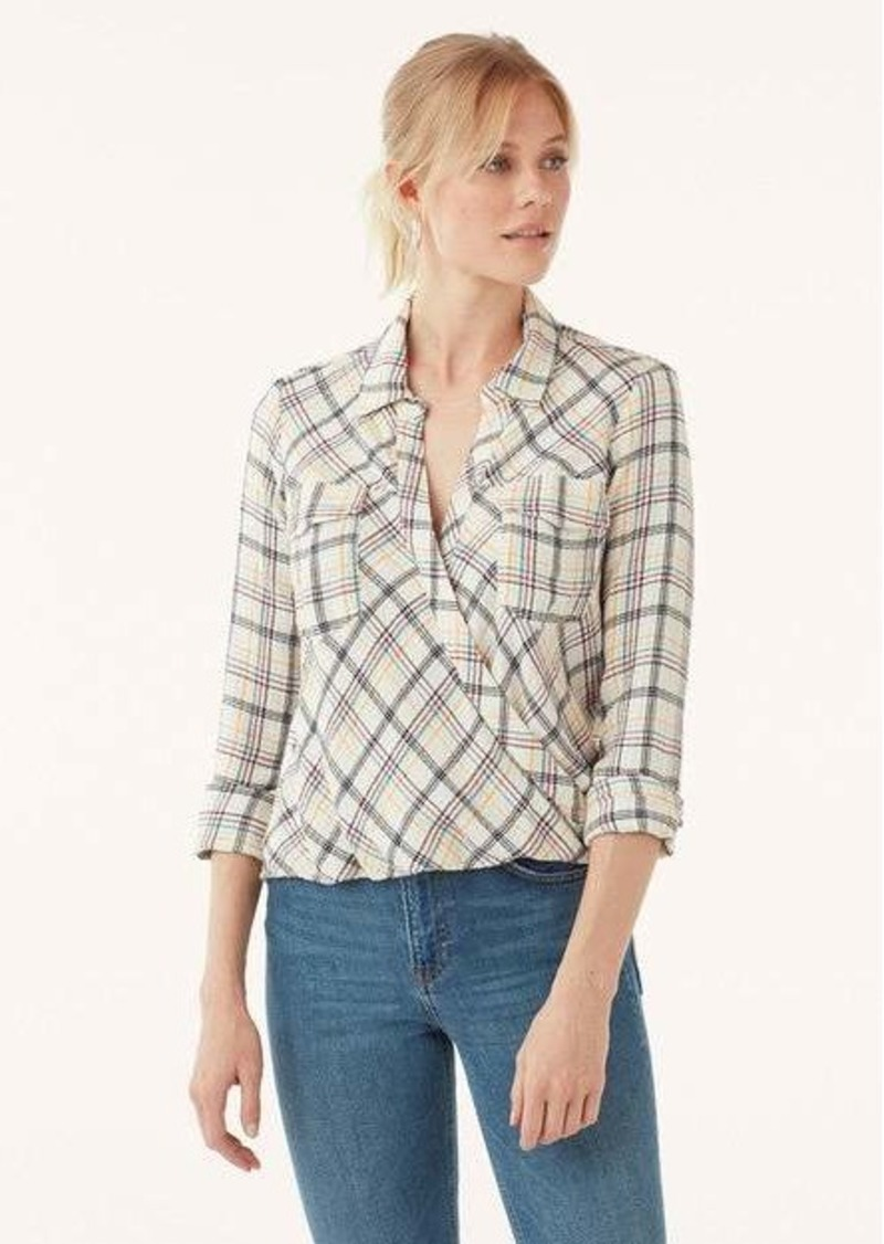 Splendid Driftwood Plaid Surplice