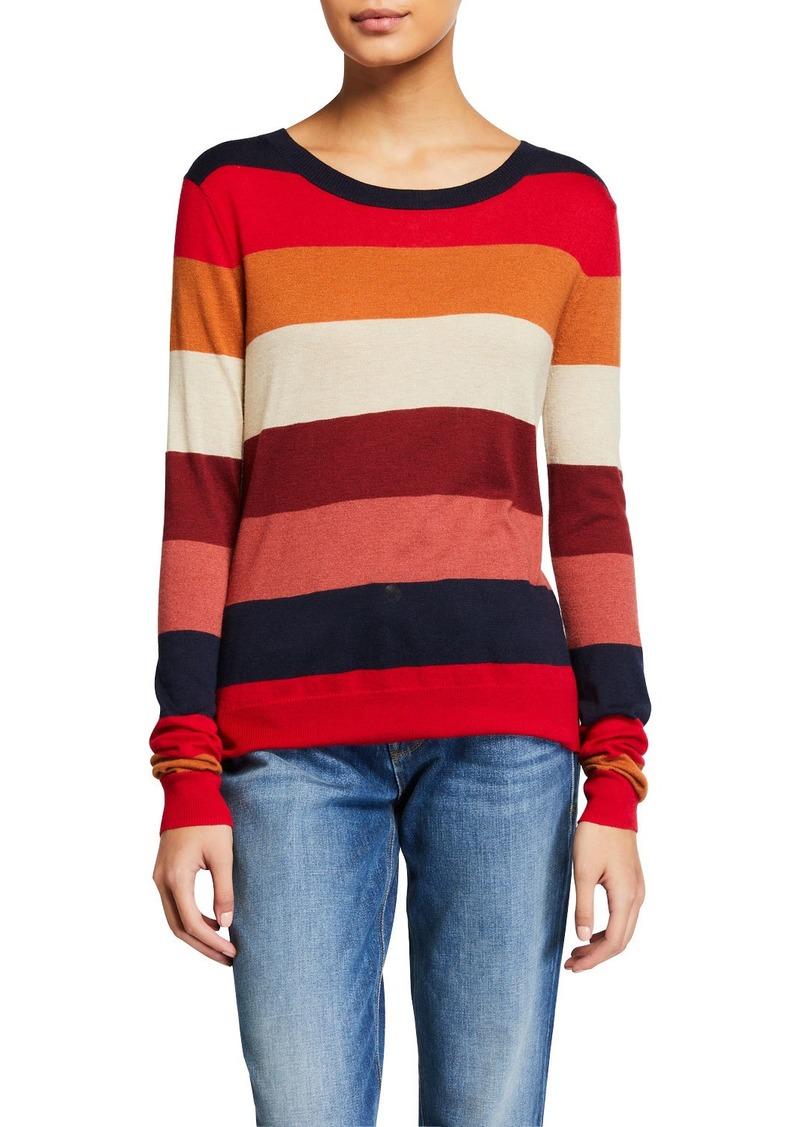 Splendid Duke Striped Long-Sleeve Pullover