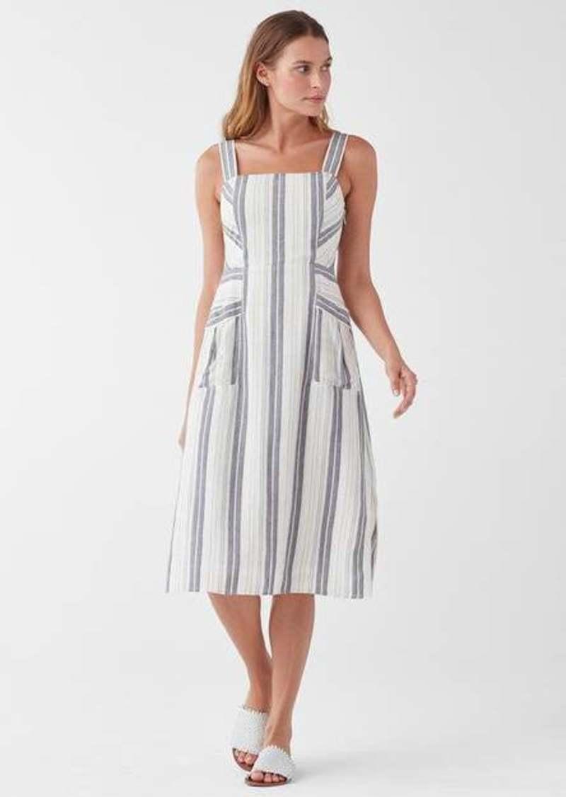 Splendid Dume Stripe Tank Pocket Dress