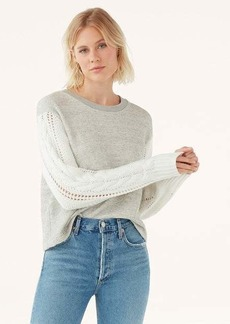Splendid Emerson Mix Media Sweater