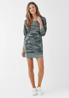 Splendid Essentials Camo Courtside Dress