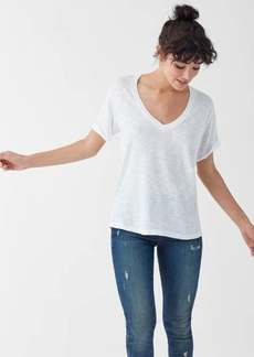 Splendid Everly Slub V-Neck Tee
