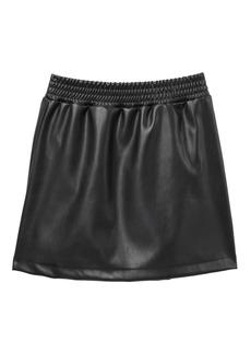 Splendid Faux Leather Skirt (Big Girls)