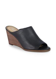 Splendid Fenwick Leather Wedge Sandals