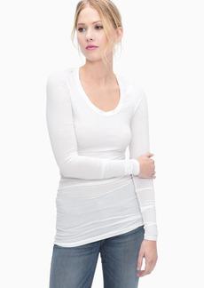 Splendid First Layer Long Sleeve Top
