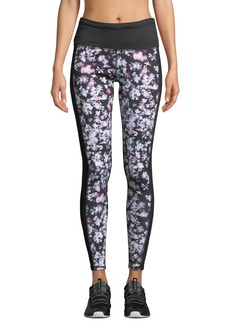 Splendid Floral-Print High-Waist Yoga Pants