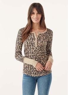 Splendid Forever Henley in Leopard